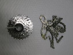 SRAM 11-28t 9 Speed Cassette and SRAM PC-971 Chain Downhill
