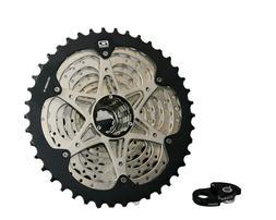 Shimano 10-speed 11-42T Cassette freewheel CS-HG500 with rea