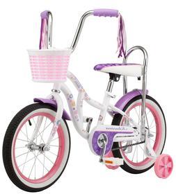 """Schwinn 16"""" Bloom Girls Bike, White"""