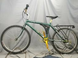 """1985 18"""" cannondale sm700 custom gold green bay packers moun"""