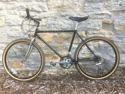 """1989 Schwinn Cimarron 18 Spd Mountain Bike 19"""" Med Black Pri"""