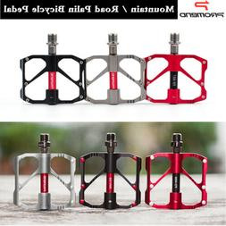 1Pair Mountain Road Bike Pedal Alloy Sealed Bearing Anti Sli