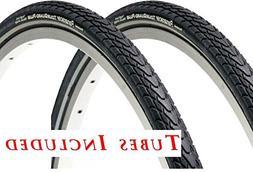 2 tires tubes