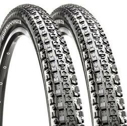 2 x MAXXIS Crossmark Mountain Bike Bicycle Cycling Tyre 26 x