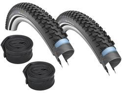 "2 x Schwalbe Marathon plus MTB Bike Tyre 26 "" 27,5 "" 29 "" +"