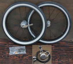 "20"" Stingray Bike Stick Shifter WHEELS 3 Speed Hub Tires Vin"