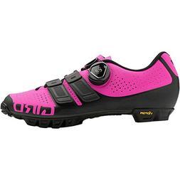 Giro 2018 Women's SICA Techlace Cycling Shoes - Black/Bright