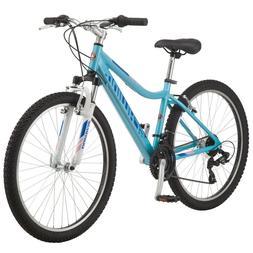 2018 SCHWINN Women's Ranger Light Blue Mountain Bike, 26 IN,