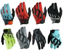 2020 Fox Racing Ranger Gloves Racing Mountain Bike BMX  MTB Gloves Cyan Medium