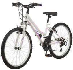 "24"" Girls Mountain Bike Womens Kids Off Road All Terrain Tra"