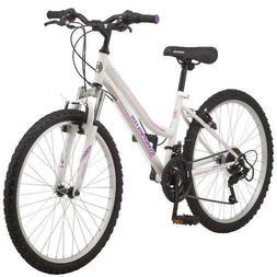 24 Inch Girls Women Mountain Bike Multiple Colours Steel Fra