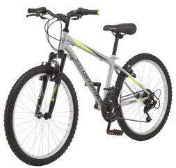 24 Inch Granite Peak Boy Mountain Bike Steel Frame 18 Speed