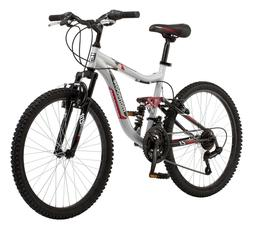 "Mongoose 24"" Ledge 2.1 Boys Mountain Bike 21 Speed Off-Road"