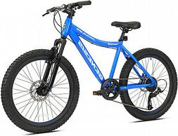 "24"" Mountain Bike Kids Boys Adults Bicycle 24 Inch MTB Cycli"