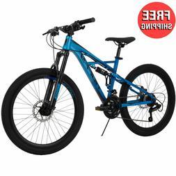 "24"" Mountain Bike Kids Boys Girls Bicycle 24 Inch MTB Cyclin"