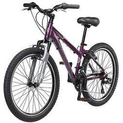 24 Schwinn Sidewinder Girls Bike, Purple