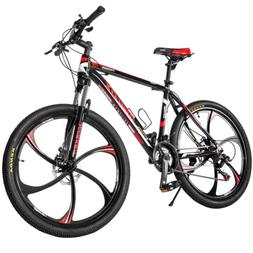 "26""Aluminum Mountain Bike 21-Speed Bicycle Magnesium Alloy W"