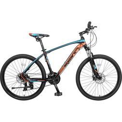 "Finiss 26"" Aluminum Mountain Bike 24 Speed Mountain Bicycle"