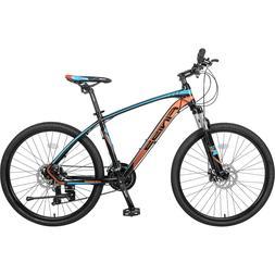 "26"" Aluminum Mountain Bike 24 Speed Mountain Bicycle with Su"