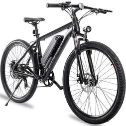 Merax 26''Electric Mountain Bike Bicycle Shimano 36V Lithium