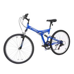 26 folding mountain bike 7 speed bicycle