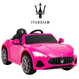 12V Electric Kids Ride On Car Toy For Girls Maserati GranCab
