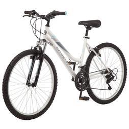 """Roadmaster 26"""" Granite Peak Women's Mountain Bike, White"""