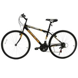 26'' Hybrid Mountain Bike 18 Speed Front Suspension Bicycles