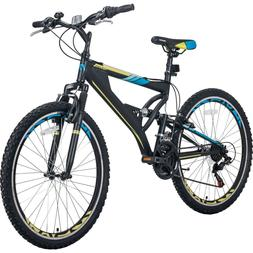 26 Inch Mountain Bike Outdoor 21-Speed Aluminum Frame Bicycl