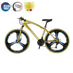 26 Inch Python Shaped Mountain Bike 21 Speed One Wheel Doubl