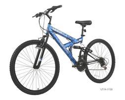 26 Inch wheel 18 Speed Men's Mountain Bike Blue NEW