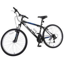 "26"" Men's Mountain Bike 18 Speed Hybrid Bicycle Shimano Sc"