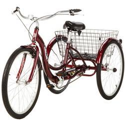 "26"" Schwinn Meridian Adult Tricycle 3wheel Trike Men Women C"