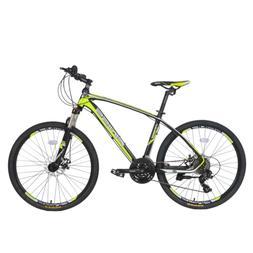 "26"" Suspension Mountain Bike Aluminum 24 Speed Mens Bikes Bi"