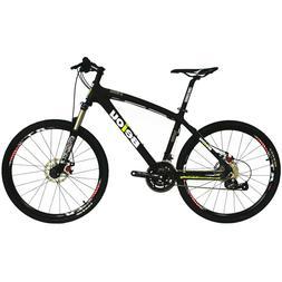 "BEIOU 26"" XC Mountain Bike Carbon MTB 15inch frame shimano M"