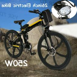 26inch Bike Electric Bicycle 250W 36V Folding Mountain Bike