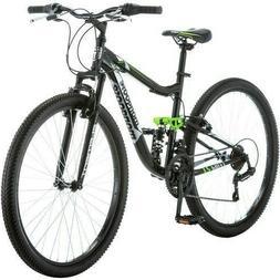 "27"".5 Mongoose Ledge 2.1 Men's Mountain Bike Dual Suspension"