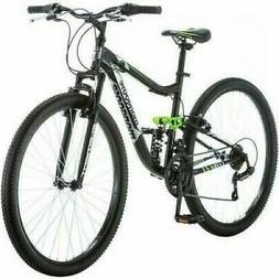 "27.5"" Mongoose Men's Mountain Bike Bicycle Adult Dual Suspen"
