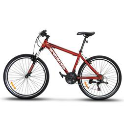"27.5"" Men's Mountain Bike Hybrid 21 Speed Front Suspension S"