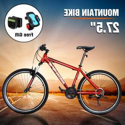 "27.5"" Men's Mountain Bike Shimano Hybrid 21 Speed Brake Susp"