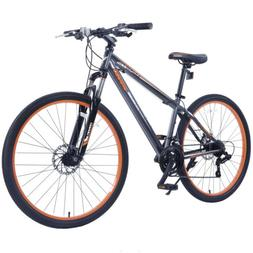 "27.5"" Men's Mountain Bike Shimano Hybrid 21 Speed Bicycle  G"