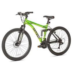 "Kent 27.5"" Men's Overkill Mountain Bike, Green"