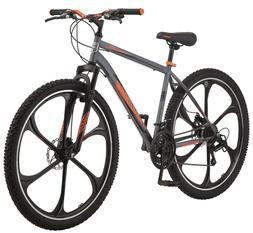 """Mongoose 29"""" Billet Men's Mountain Bike-Grey"""