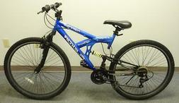 "Kent29 FLEXOR Men's 29"" 21-Speed Dual Shock Mountain Bike BL"