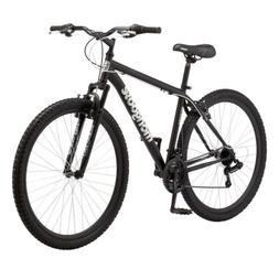 "Mongoose 29"" Inch MEN'S EXCURSION Mountain Bike Black Outdoo"
