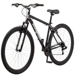 "Mongoose 29"" Inch MENS EXCURSION Mountain Bike Black Outdoor"