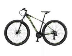 "29"" Men's Schwinn Boundary Mountain Bike, Black/Green **IN H"