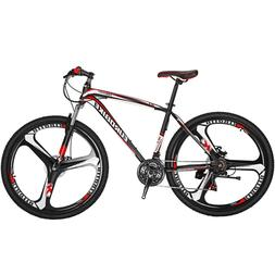29er Mountain Bike 21 Speed Mens Bikes Disc brakes bicycle 3