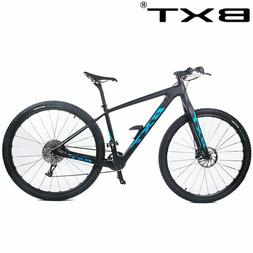 BXT 29inch carbon fiber Mountain bike 1*11 Speed Double Disc