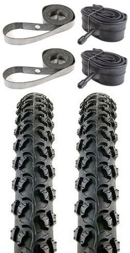"2PACK KENDA Alpha Bite K831 26x1.95"" MTB Bike Tires & Tubes"